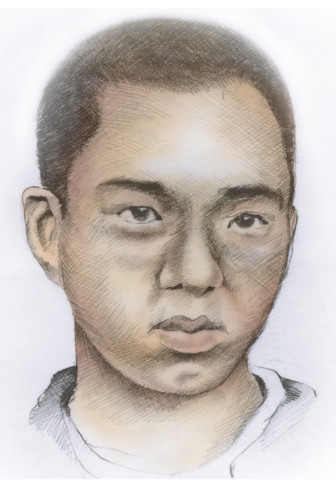 Illustration of Virginia Tech gunman Seung-Hui Cho, who killed 32 students and himself in April 2007.
